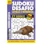 Sudoku Desafio Ed. 66 - Muito Difícil - Só Super Desafio - Com Letras e Números