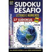 Sudoku Desafio Ed. 71 - Muito Difícil - Só Super Desafio - Com Letras e Números - Planeta Terra