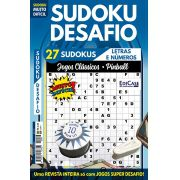 Sudoku Desafio Ed. 73 - Muito Difícil - Só Super Desafio - Com Letras e Números - Jogos Clássicos (Pinball)