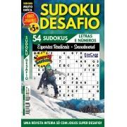 Sudoku Desafio Ed. 81 - Muito Difícil - Só Super Desafio - Com Letras e Números - Esportes Radicais - Snowboard