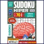 Sudoku Hiper Ed. 41 - Médio/Difícil - Jogos 9x9 + 10 Jogos Super-Desafio