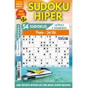 Sudoku Hiper Ed. 66 - MUITO DIFÍCIL - SÓ SUPER DESAFIO - COM LETRAS E NÚMEROS - Praia Jet Ski