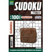 Sudoku Master Ed. 18 - Médio/Difícil - Só jogos 9x9 - Elemento Terra