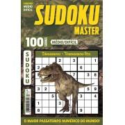 Sudoku Master Ed. 26 - Médio/Difícil - Só jogos 9x9 - Dinossauros - Tiranossauro Rex