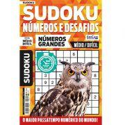 Sudoku Números e Desafios Ed. 112 - Médio/Difícil - Só Jogos 9x9 - Números Grandes