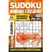 Sudoku Números e Desafios Ed. 114 - Médio/Difícil - Só Jogos 9x9 - Números Grandes