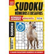Sudoku Números e Desafios Ed. 115 - Médio/Difícil - Só Jogos 9x9 - Números Grandes