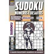 Sudoku Números e Desafios Ed. 120 - Médio/Difícil - Só Jogos 9x9 - Números Grandes - Apolo/Febo