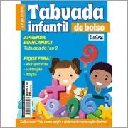 Tabuada Infantil de Bolso Ed. 01 - Aprenda Brincando