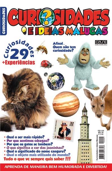 Curiosidades e Ideias Malucas - Escolha sua Edição - VERSÃO PARA DOWNLOAD  - EdiCase Publicações