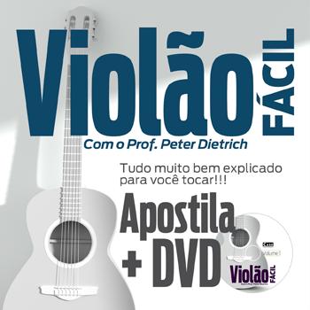 Violão Fácil Profº Peter Dietrich - ESCOLHA SUA EDIÇÃO