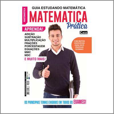 Guia Estudando Matemática - Edição 01  - Case Editorial