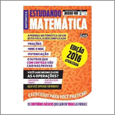 Estudando Matemática - Edição 01  - Case Editorial