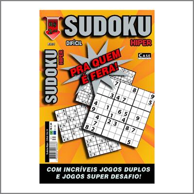 Sudoku Hiper - Edição 31 - Difícil  - EdiCase Publicações