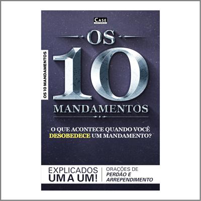 Os 10 Mandamentos e as Orações de Perdão - Edição 01  - EdiCase Publicações