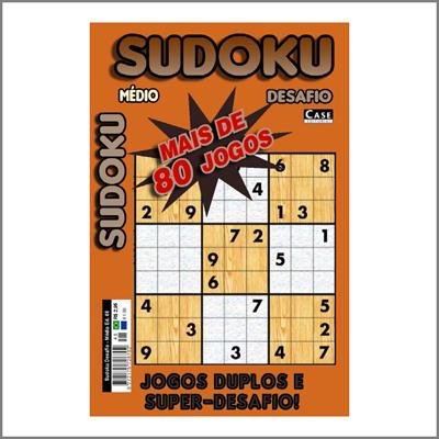 Sudoku Desafio - Edição 48 - Médio  - Case Editorial