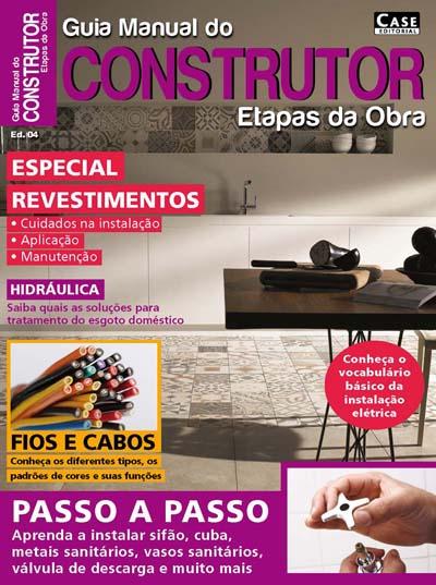 Guia Manual do Construtor Etapas da Obra - ESCOLHA SUA EDIÇÃO  - EdiCase Publicações