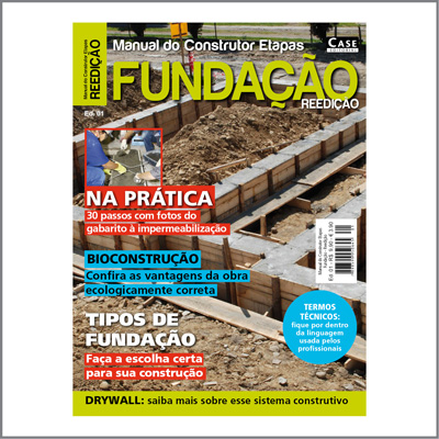 Manual do Construtor Etapas - Edição 01 - REEDIÇÃO  - EdiCase Publicações