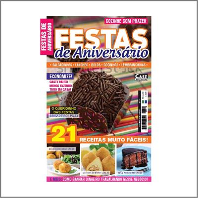 Cozinhe Com Prazer - Ed. 14 (Festa De Aniversário)  - EdiCase Publicações