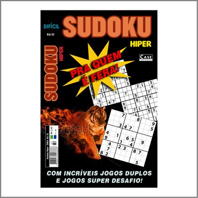 Sudoku Hiper - Edição 32 - Difícil  - EdiCase Publicações