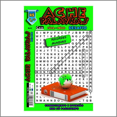 Ache Palavras - Edição 53 - Fácil/Médio  - Case Editorial