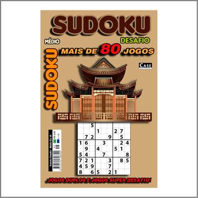 Sudoku Desafio - Edição 49 - Médio  - EdiCase Publicações