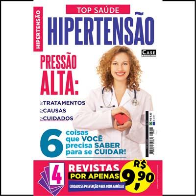 Top Saúde - Edição 01 - 4 revistas de saúde (sortidas)  - EdiCase Publicações