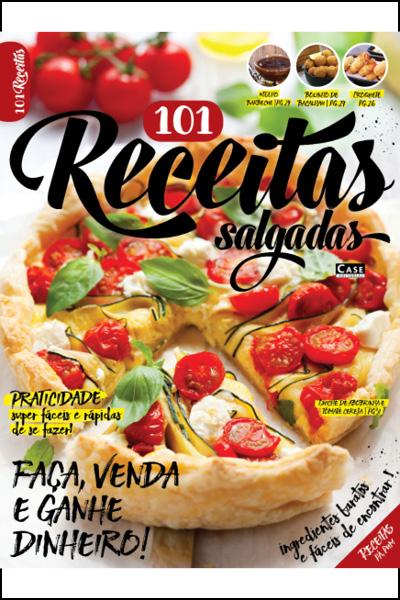 101 Receitas Salgadas - Edição 01  - EdiCase Publicações