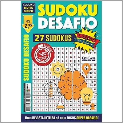 Sudoku Desafio  - EdiCase Publicações