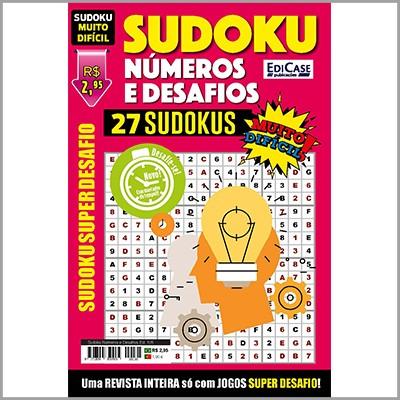 Sudoku Números e Desafios  - EdiCase Publicações