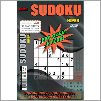 Sudoku Hiper  - EdiCase Publicações