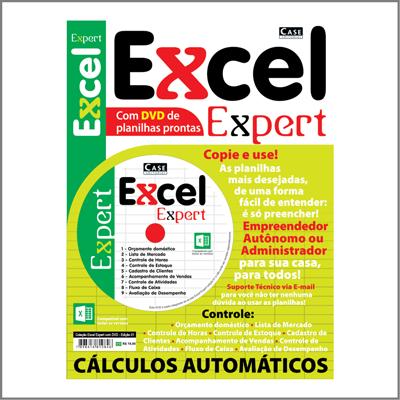 Coleção Excel Expert com DVD - Edição 01  - EdiCase Publicações