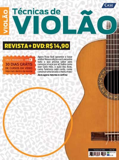 Técnicas de Violão - Edição 01  - EdiCase Publicações
