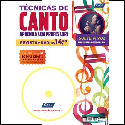Técnicas de Canto - Edição 01  - Case Editorial