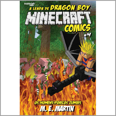 Minecraft Comics: A Lenda de Dragon Boy  - Case Editorial