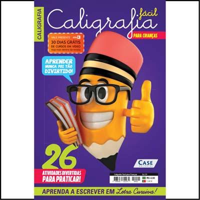 Caligrafia Fácil para Crianças - Edição 01  - Case Editorial