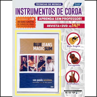 Técnicas de Música Instrumentos de Corda - Ed. 01 - ESCOLHA SEU DVD  - EdiCase Publicações