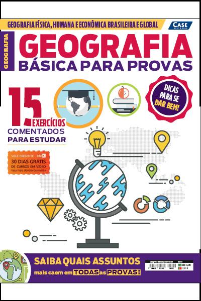 Geografia Básica Para Provas - Edição 01  - EdiCase Publicações