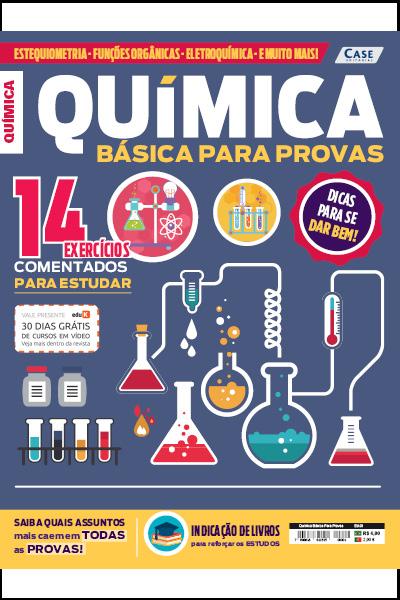 Química Básica Para Provas - Edição 01  - EdiCase Publicações