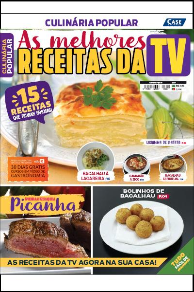 Culinária Popular - Edição 01  - Case Editorial