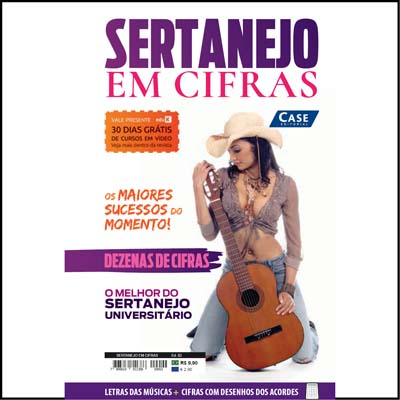 Coletânea Sertanejo em Cifras - Edição 02  - Case Editorial