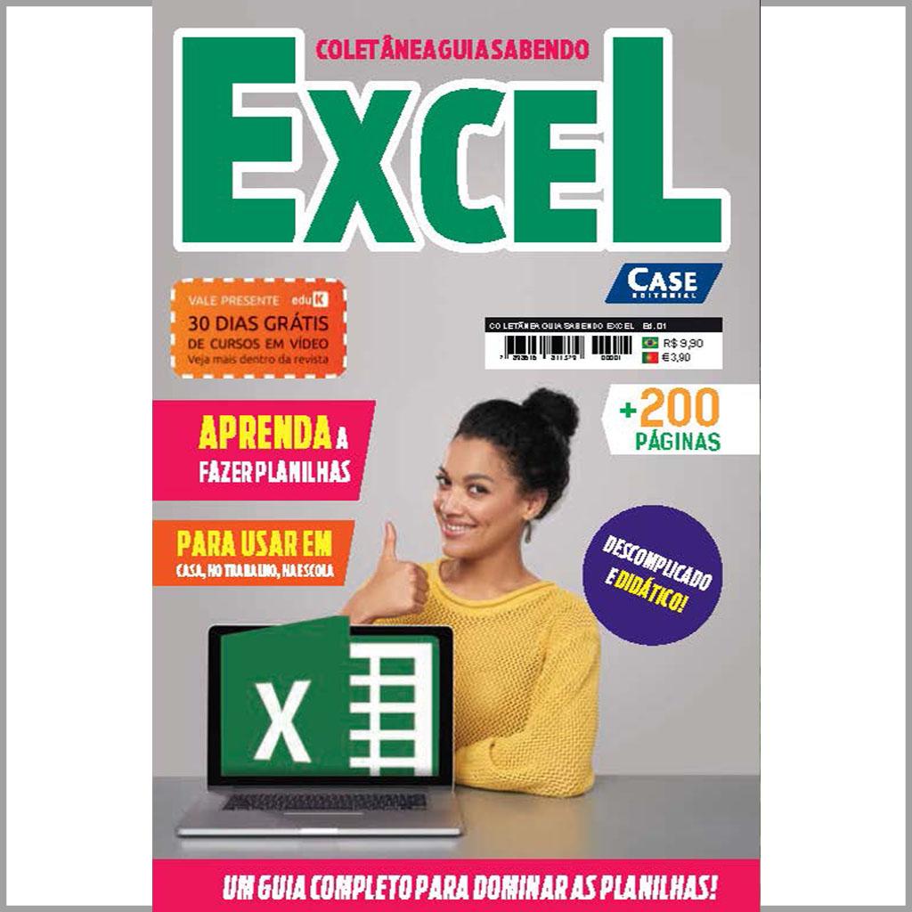 Coletânea Guia Sabendo Excel - Edição 01  - Case Editorial