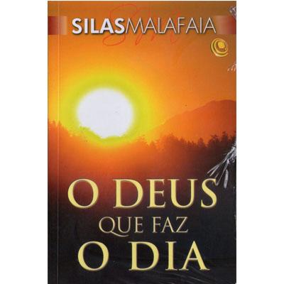 Livro O Deus que Faz o Dia - Pastor Silas Malafaia  - EdiCase Publicações