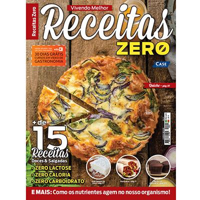 Vivendo Melhor Ed. 01 - Receitas Zero  - EdiCase Publicações