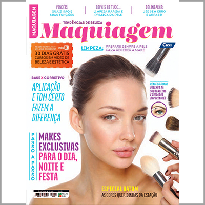 Tendências de Beleza - Edição 01 (Maquiagem)  - Case Editorial