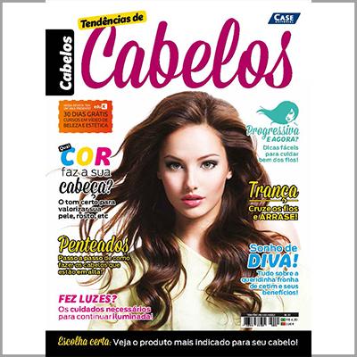 Tendências de Cabelos - Edição 01 (Cabelos)  - EdiCase Publicações