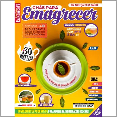 Emagreça com Saúde - Ed. 01 (Chás para Emagrecer)  - Case Editorial