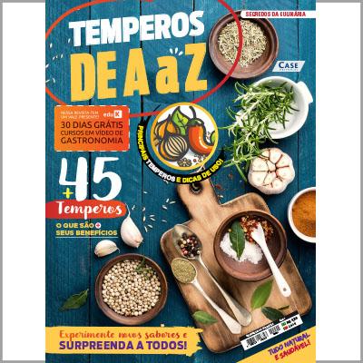 Segredos da Culinária - Ed. 01 (Temperos de A a Z)  - EdiCase Publicações