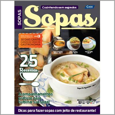 Cozinhando Sem Segredos - Edição 07  - Case Editorial
