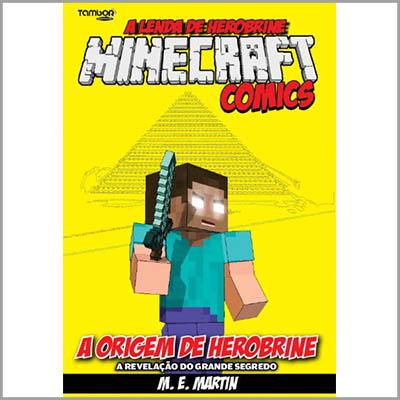 Minecraft Comics Especial - Vol. 01: A Origem de Herobrine (Ed. 15 e 16 da A Lenda de Herobrine)  - EdiCase Publicações